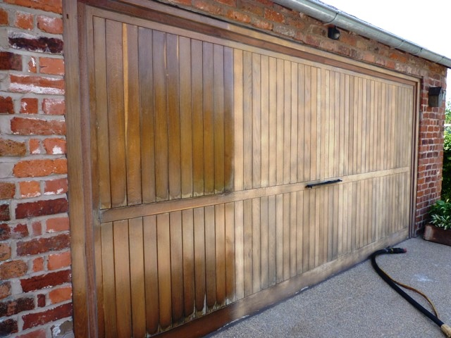 ... wooden garage door not only helps to keep it looking good it also protects the wood. Regular upkeep is key here. If the paint or varnish has cracked ... & 5 top tips to look after your wooden garage door | HomesGoFast.com
