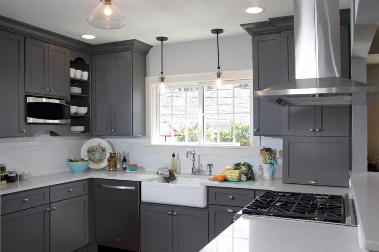 Dramatic Kitchen Decor Is Black The New Grey Homesgofast Com