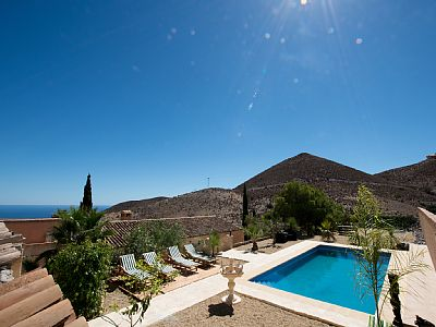 Property to Rent in Dreamy villa with pool in the mountains, Aguilas, Spain