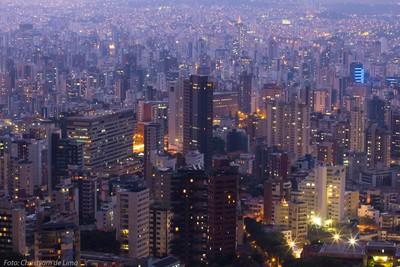 Belo Horizonte, in the night