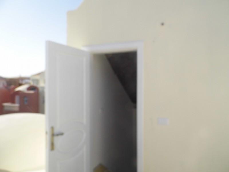 Door to roof terrace