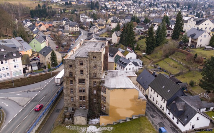 Property for Sale in Large factory for conversion to luxury apartments and commercial space, Schneeberg, Schneeberg, Schneeberg, Germany