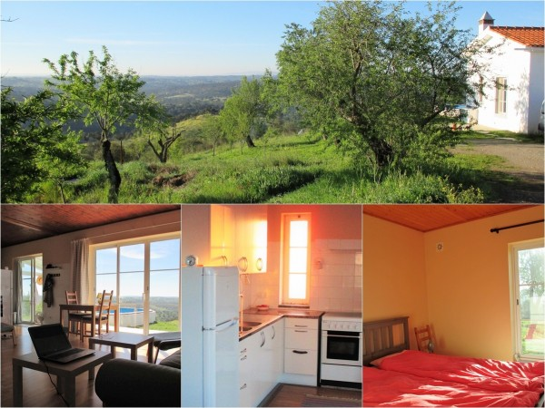 Property for Sale in A stunning panoramic view with 9,4 ha land and a country house, Povoa de são Miguel, Povoa de são Miguel, Beja, Portugal