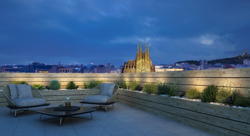 Terrace (Sagrada Familia)