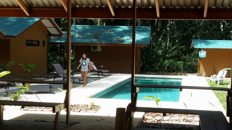 3 bungalows and pool