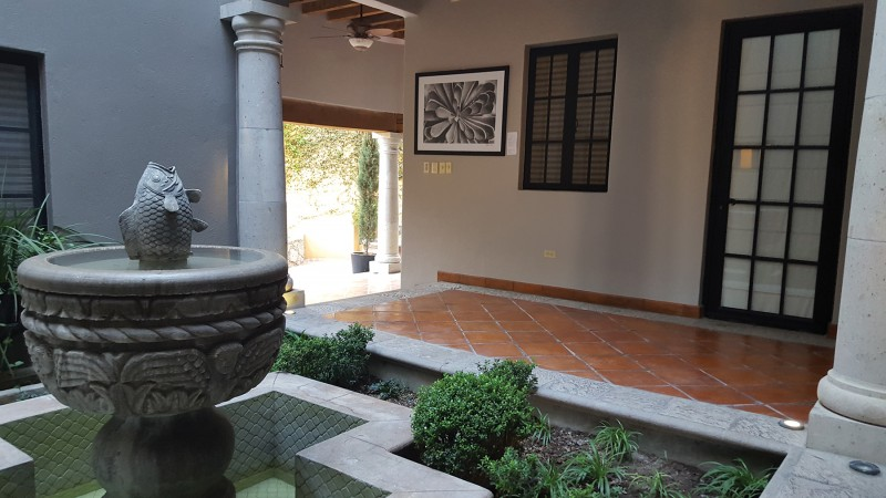 Courtyard and Fountain