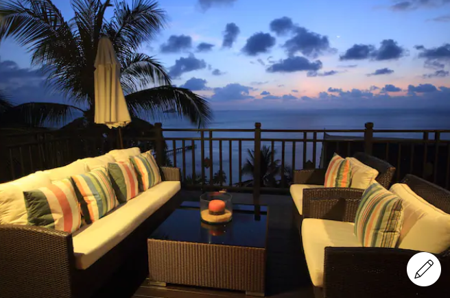 seating area balcony