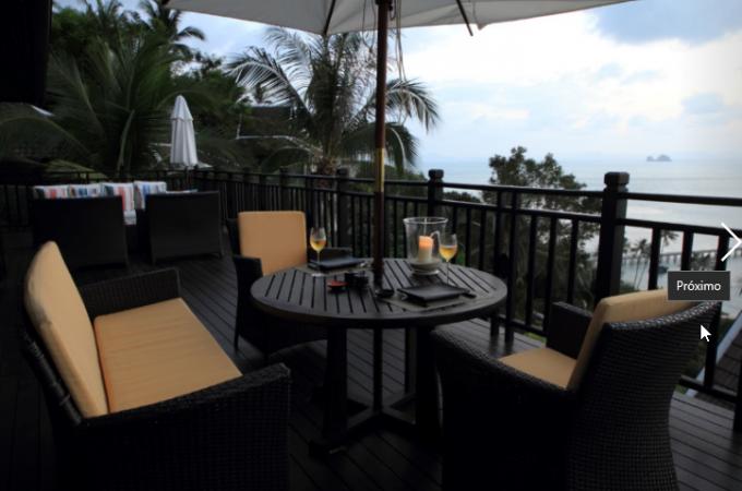 dining area balcony