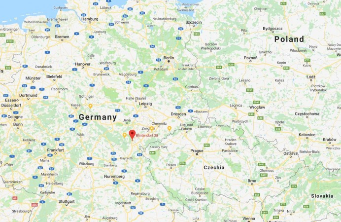 Map Of Germany For Sale.Property For Sale Gefell Germany European Property