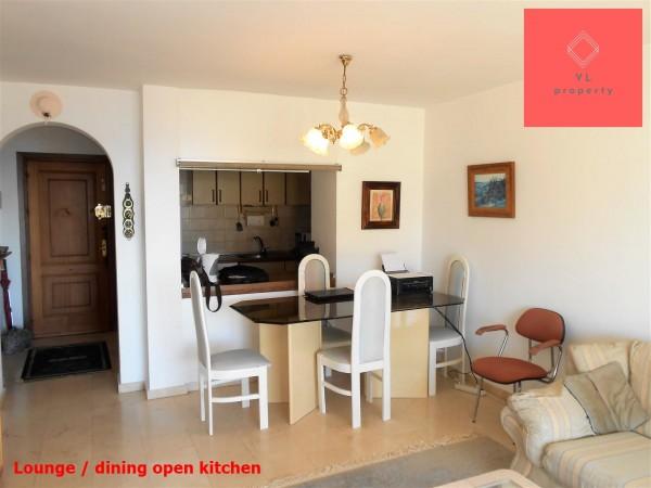 Lounge open kitchen