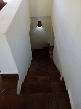 stairs to garden floor