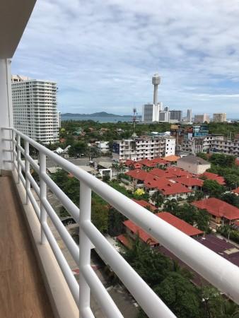 view from big corner balcony