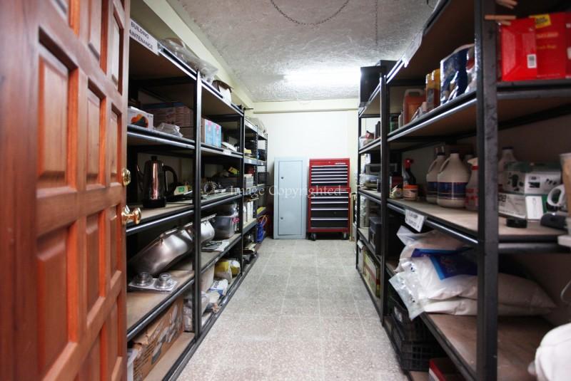 maintenance area