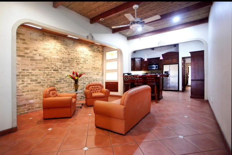 Living area-main house
