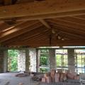 New roof and mezzanine