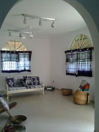 Blank canvas sitting room