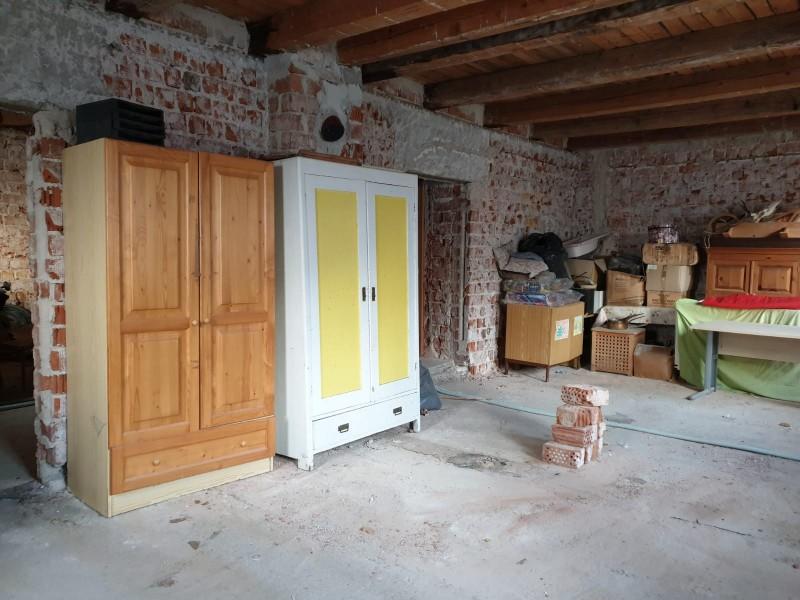 Original front room. Unfinished