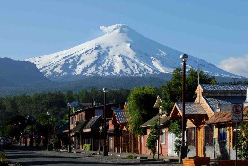 Nearby, quaint Pucón and Villarrica Volcano