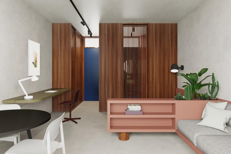 Studio internal view 2