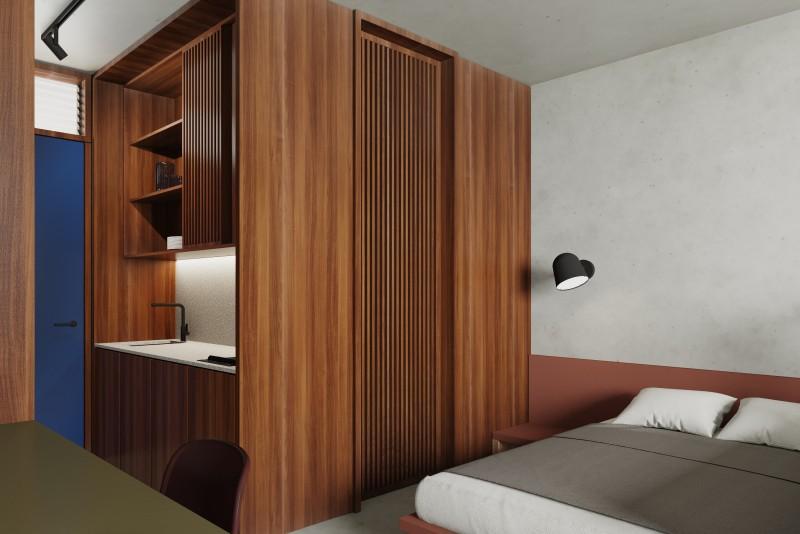 Internal view bedroom