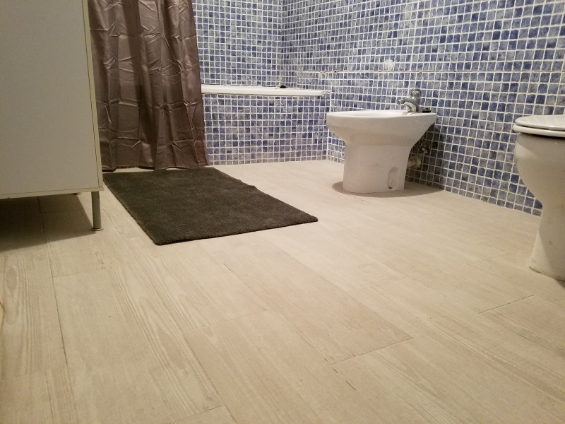 Bathroom (toilet cannot be seen further to the right)