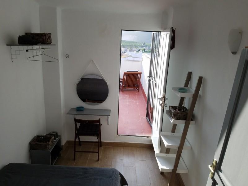 Bedroom 2 with Terrace door