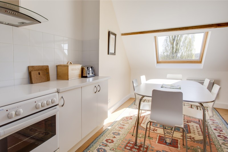 Kitchen loft apartment