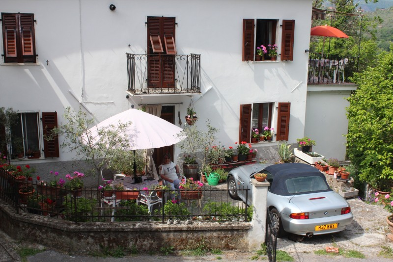 House with parking
