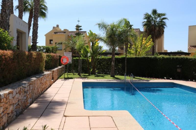 Poolside from terrace