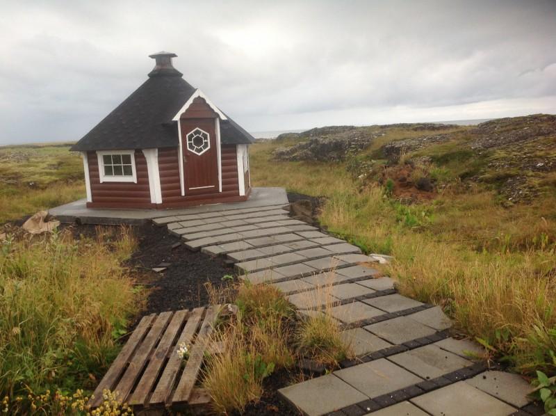 Barbecue cabin