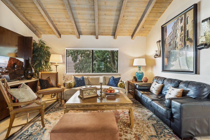Unit C - Living Room