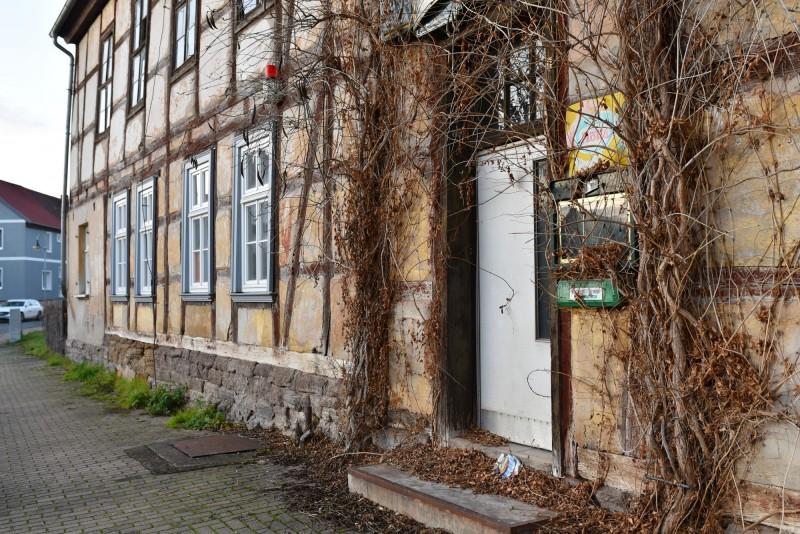 Front door of the Tavern