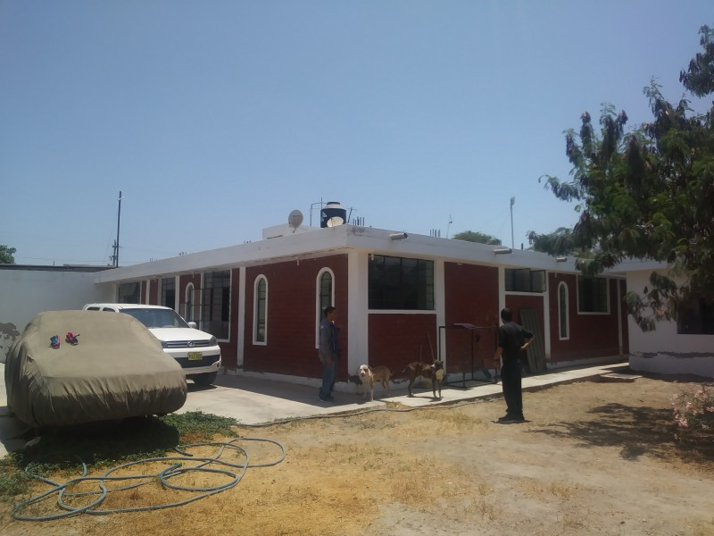 Corner of House 1