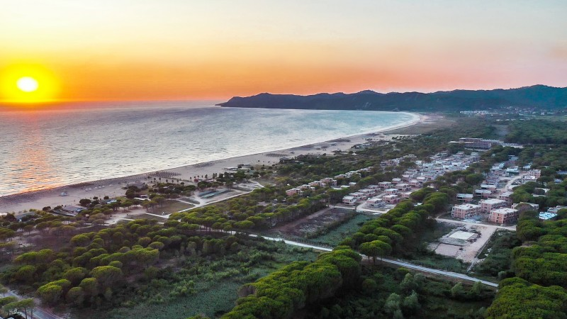 Sunset of San Pietro Resort