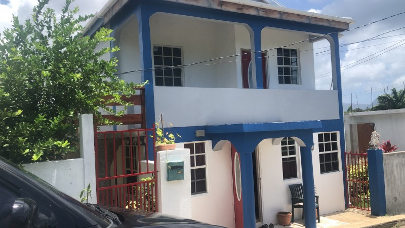 House from left to right