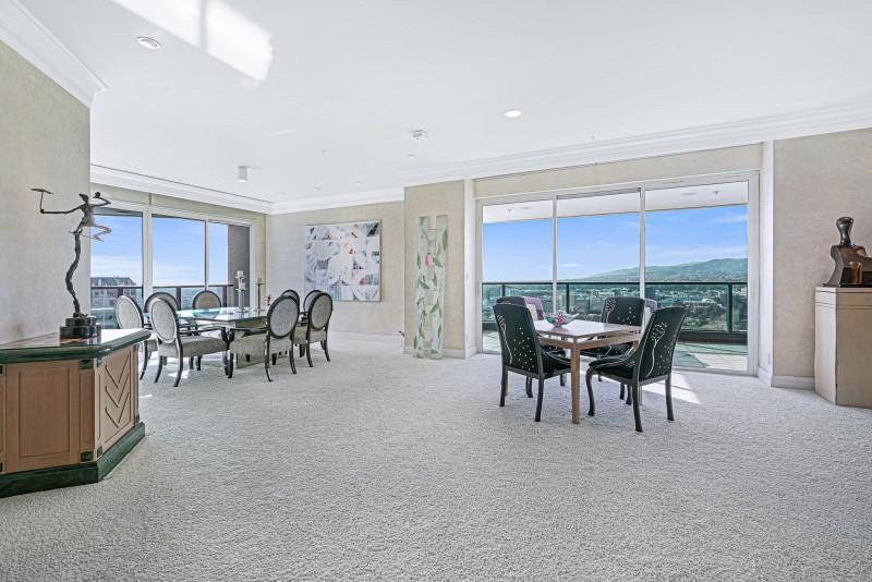 Stunning family room views