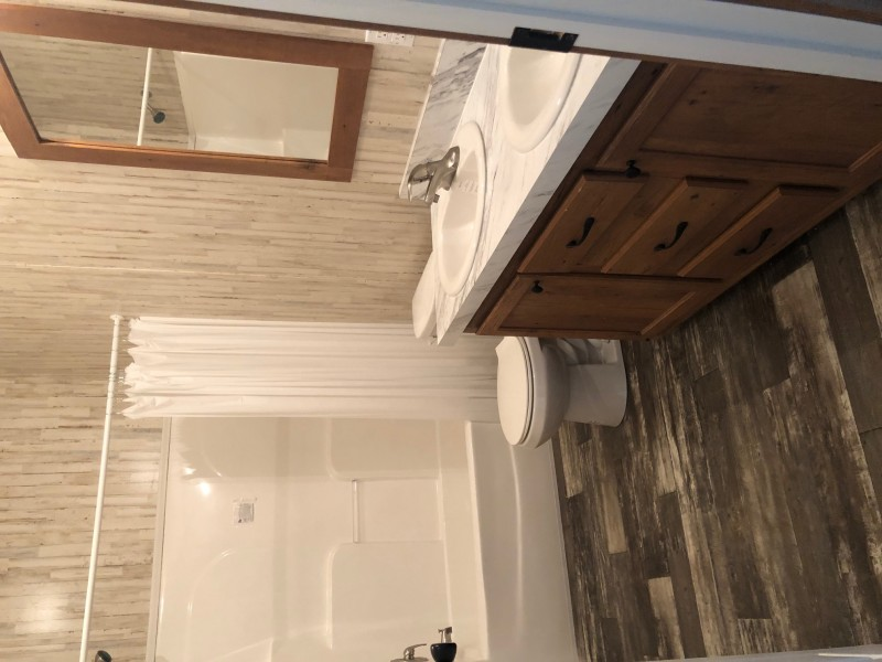 Second Bath with Double Sinks