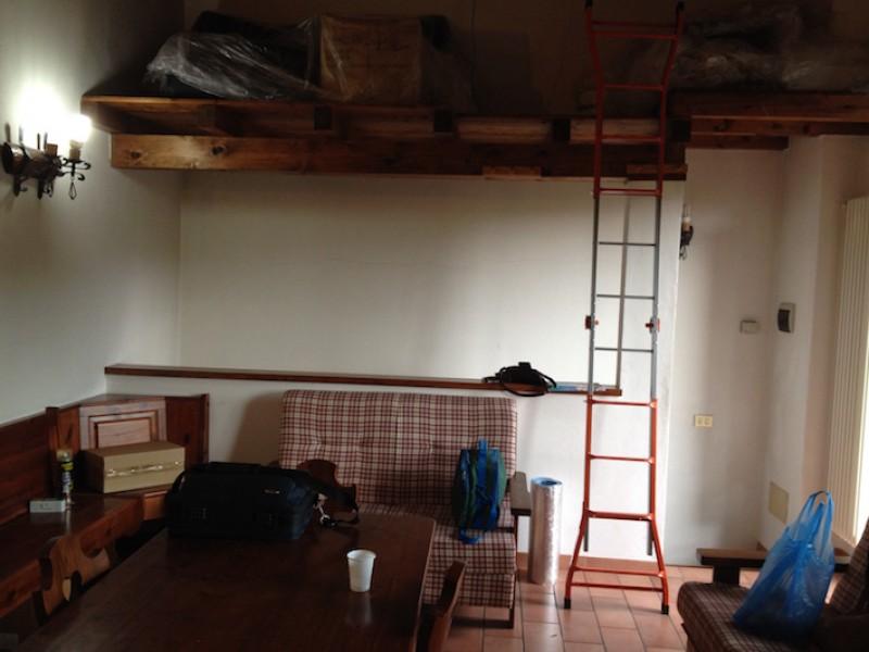 Loft in living room