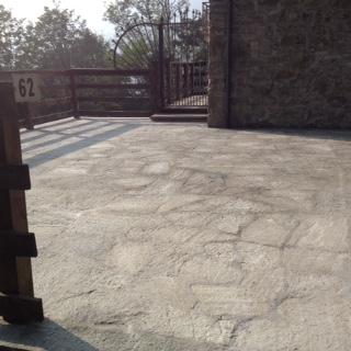 New parking flooring